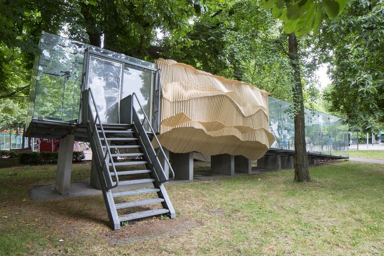 Tschumi Pavillion / Academy of Architecture Groningen, © Peter de Kan