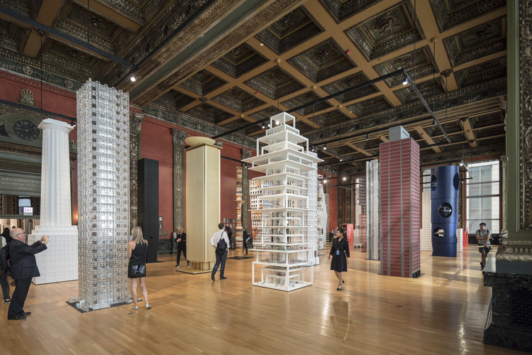 "In ""Vertical City,"" 16 Contemporary Architects Reinterpret the Tribune Tower at 2017 Chicago Architecture Biennial, © Laurian Ghinitoiu"