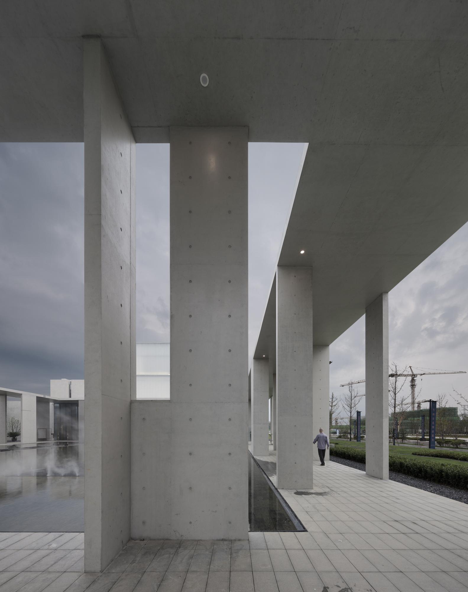 cultural center of beicheng central park in hefei shenzhen huahui design