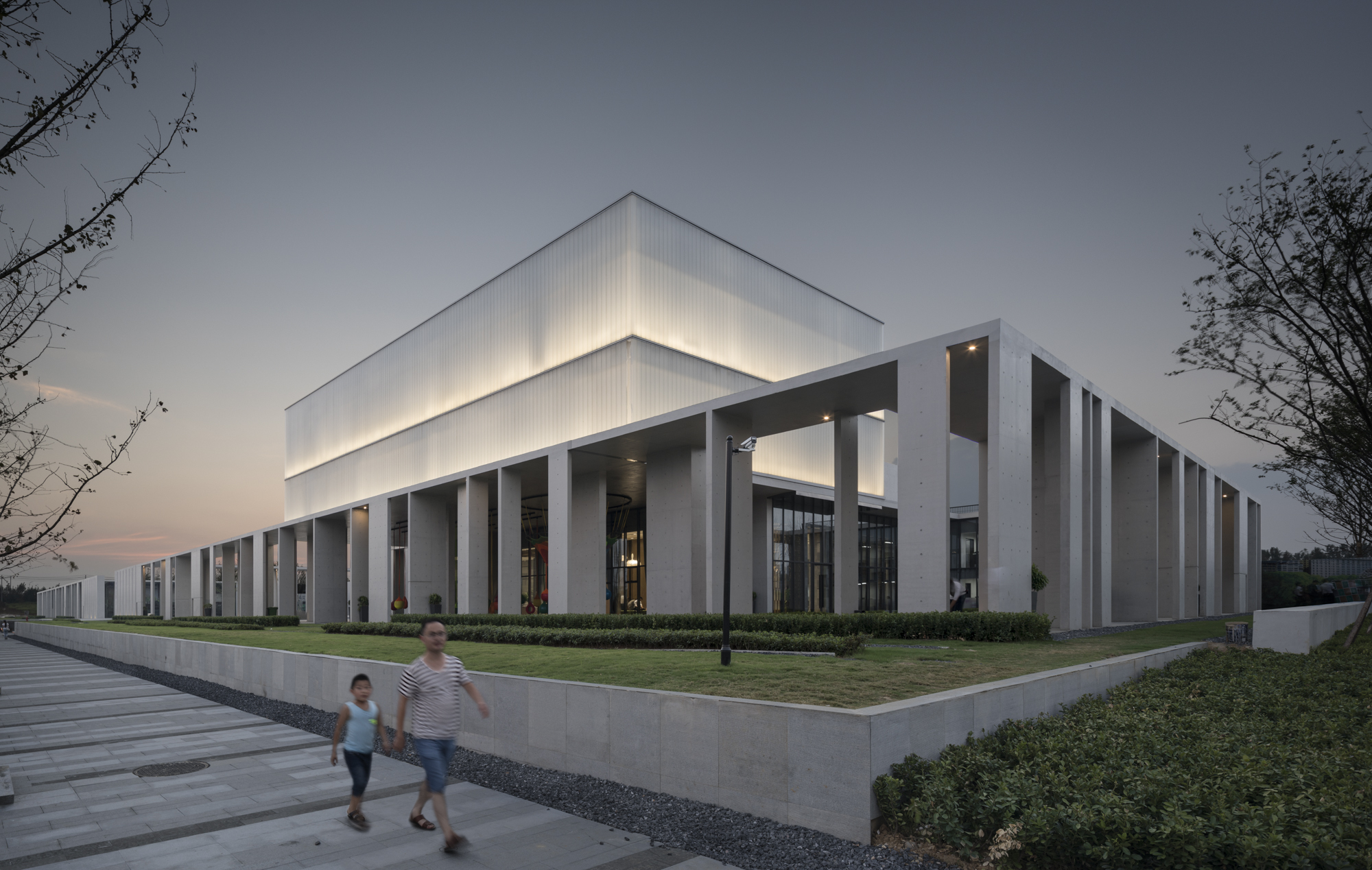 Cultural center of beicheng central park in hefei for Art house building design