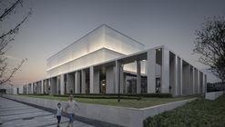 Cultural Center of Beicheng Central Park in Hefei / Shenzhen Huahui Design