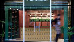 Tienda de Cervezas Gambler  / Carbono Atelier