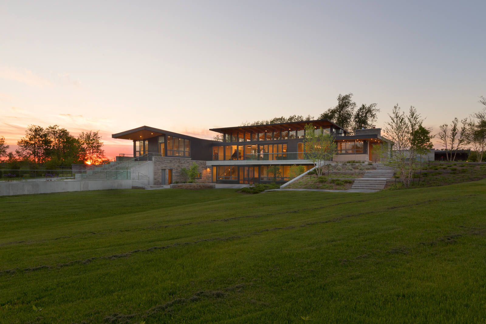 Gallery of millgrove house toms mcnally design 22 for Design house architecture hamilton