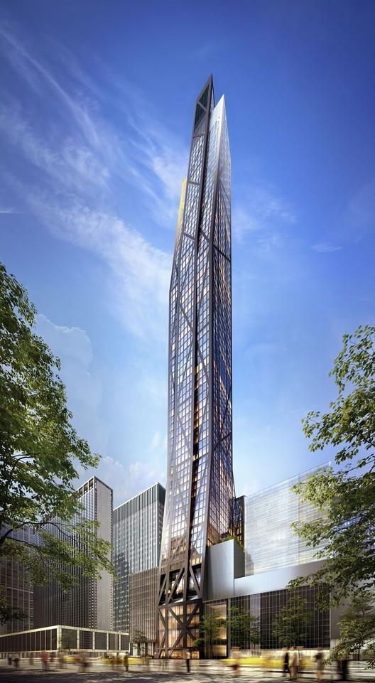 Renders do 53W53 de Jean Nouvel mostram como será o novo arranha-céu de Manhattan, Cortesia de VUW Studio