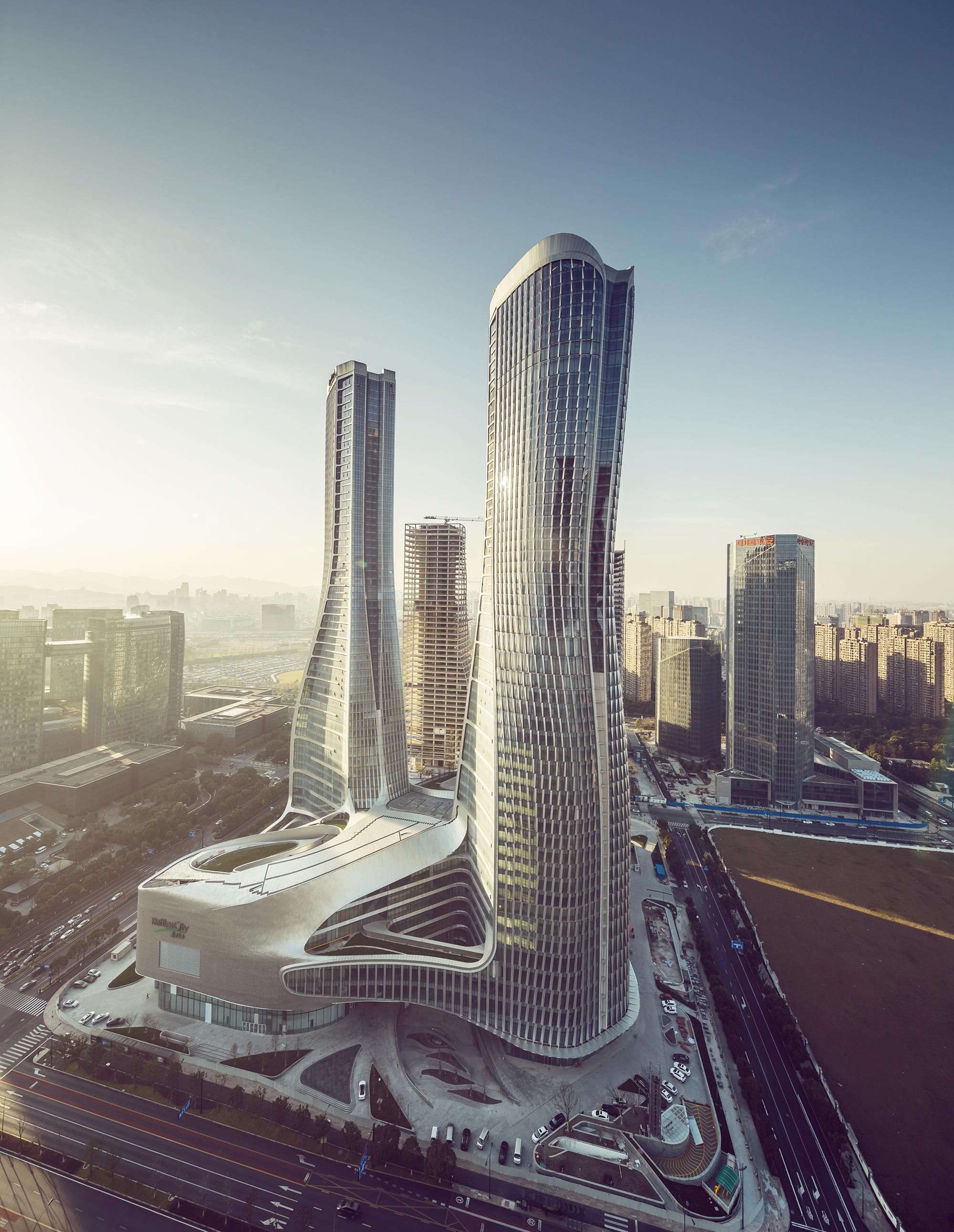 Raffles City Hangzhou Unstudio Archdaily