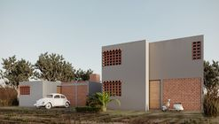 En Guanajuato, México: Prototipo para INFONAVIT, por SURarquitectura