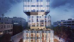 Schmidt Hammer Lassen Breaks Ground on Glass Box Headquarters of Creative Incubator in China
