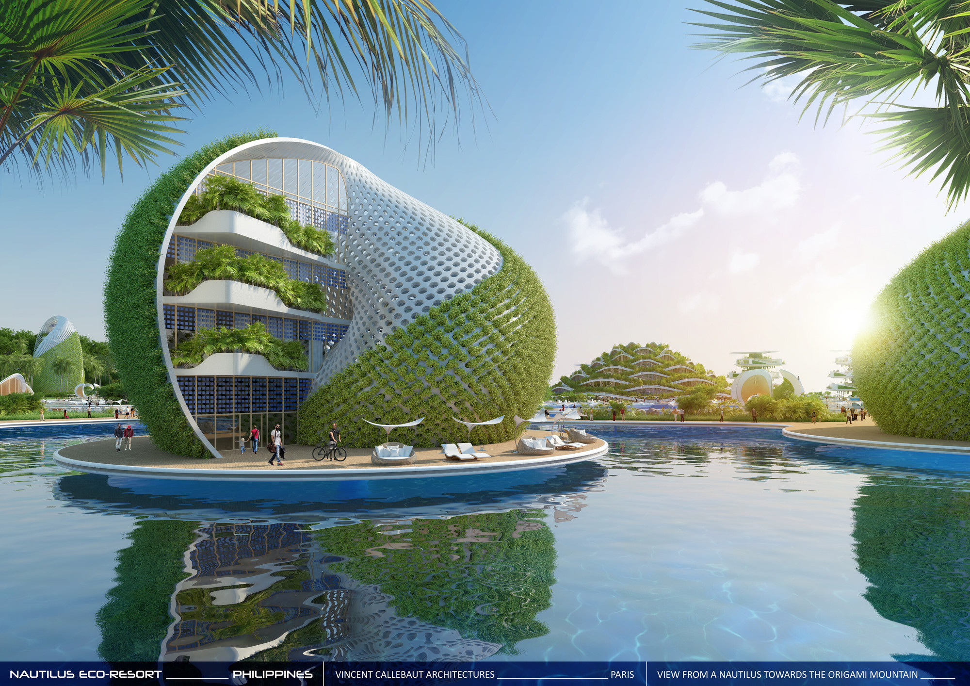 Gallery Of Vincent Callebaut Envisions Shell Inspired Eco