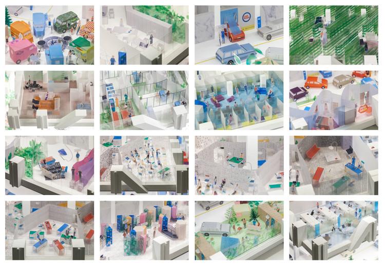 Adamo Faiden: 'De uso mixto a difuso' para la Bienal de Arquitectura de Chicago 2017, © Javier Agustín Rojas