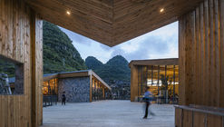 Tourist Center of Anlong Limestone Resort  / 3andwich Design / He Wei Studio