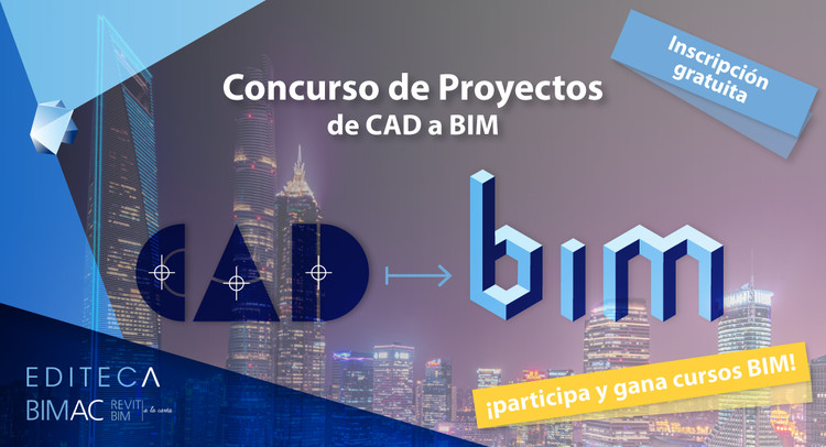 Concurso de proyectos de CAD a BIM, Concurso de CAD a BIM Editeca