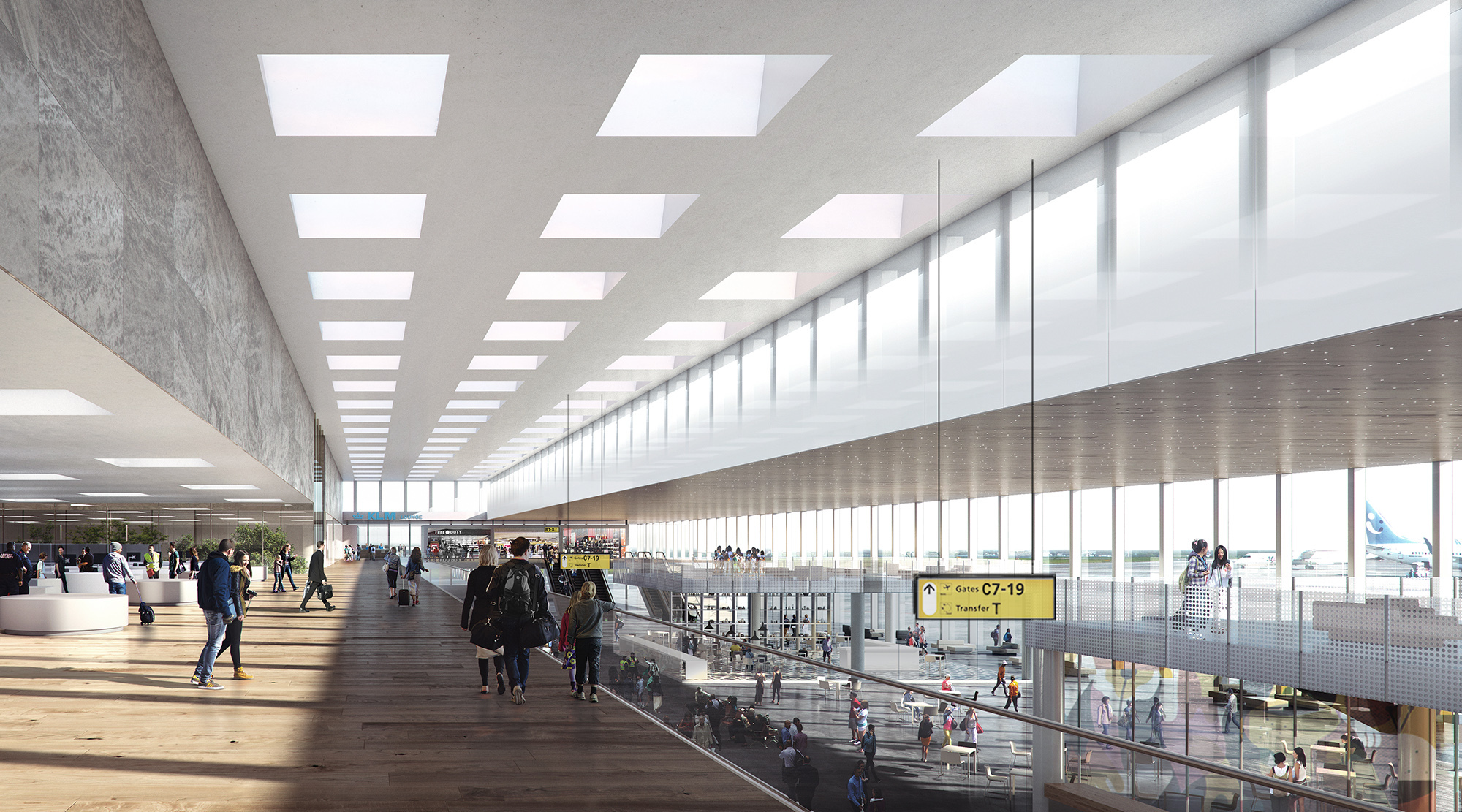 Gallery Of Kaan Architecten Designs Glassy New Terminal