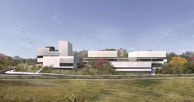 Terceiro lugar no concurso para o novo Sesc Limeira , Cortesia de República Arquitetura / H+F Arquitetos