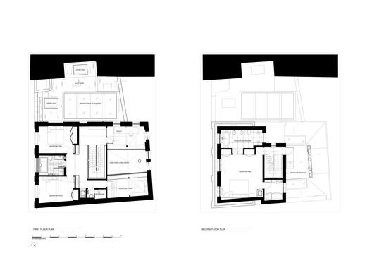 1st and 2nd Floor Plan