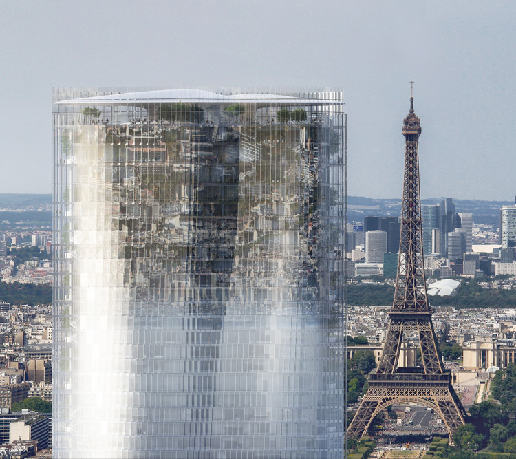 """MAD apresenta """"Mirage"""": um projeto de renovação para a Torre de Montparnasse em Paris, Cortesia de MAD Architects"""