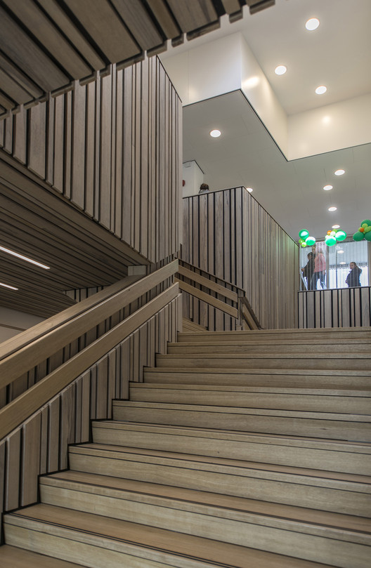 mainstair ground floor . Image © Daan Dijkmeijer and UArchitects