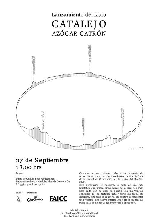 Presentación del Libro 'Catalejo' en Concepción, Azócar Catrón