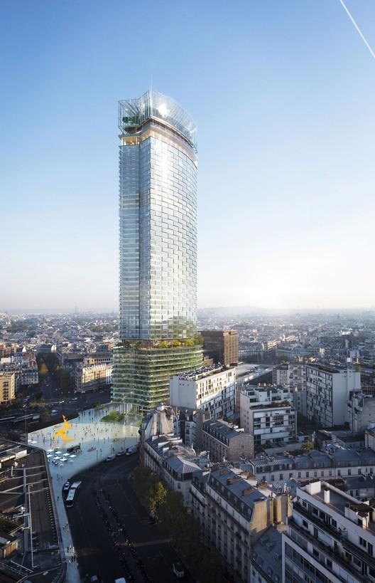 Nouvelle AOM Wins Competition to Redesign Paris' Tour Montparnasse