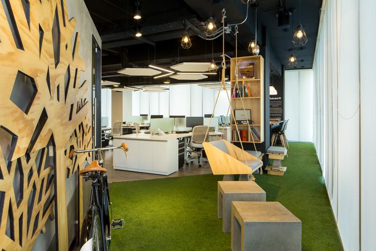 Dise o de espacios de trabajo y su influencia en el for Oficinas de diseno y arquitectura