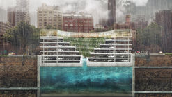 All-In-One Structure Solves Flooding, Parking and the Lack of Green Space in Cities