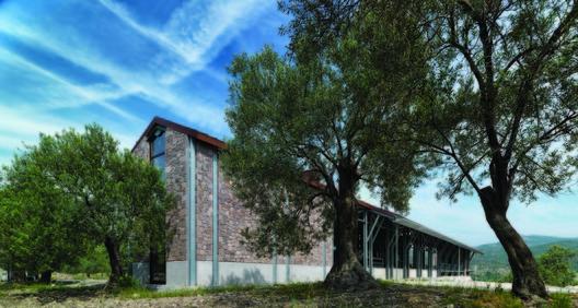 Angelos Organic Olive Oil Mill / Mimarlar ve Han Tümertekin