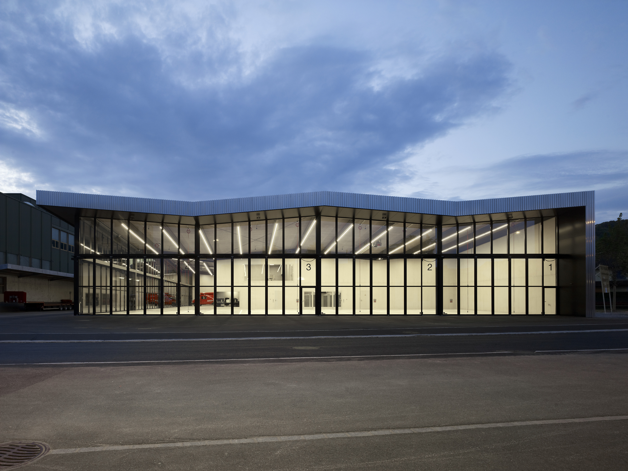 Weinfelden Fire Station Kit Archdaily