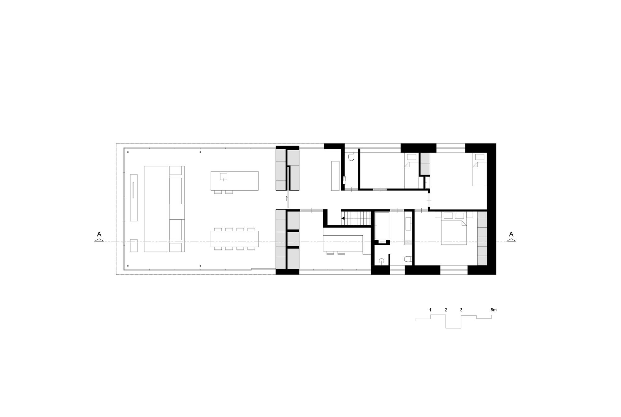 galer a de villa rr reitsema and partners architects 13. Black Bedroom Furniture Sets. Home Design Ideas