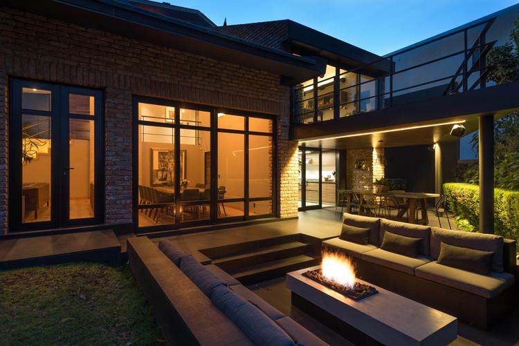 Casa Ar Arco Arquitectura Contempor 225 Nea Archdaily M 233 Xico