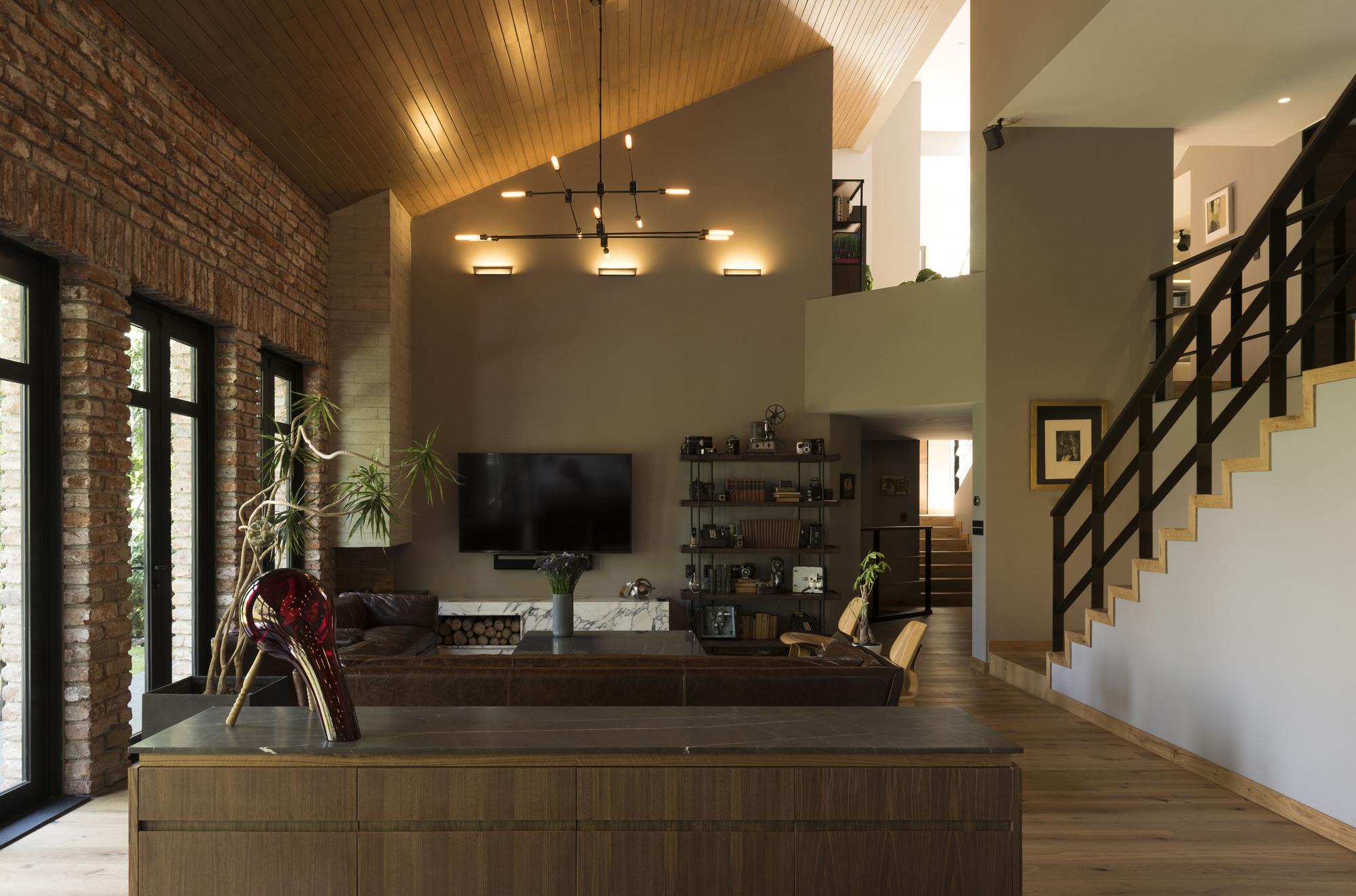 Gallery Of Casa Ar Arco Arquitectura Contempor 225 Nea 3