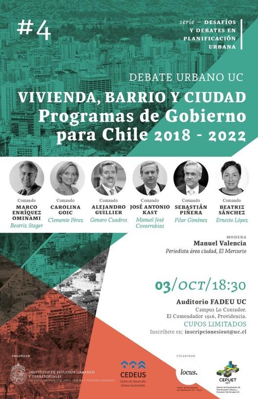 Debate Urbano UC: Asesores candidatos presidenciales en Vivienda, Barrio y Ciudad