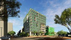 William McDonough divulga projeto de edifício biomimético para a UEAN em Bogotá