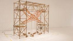 El agua se materializa constructivamente a través del trabajo artístico de Claudia González
