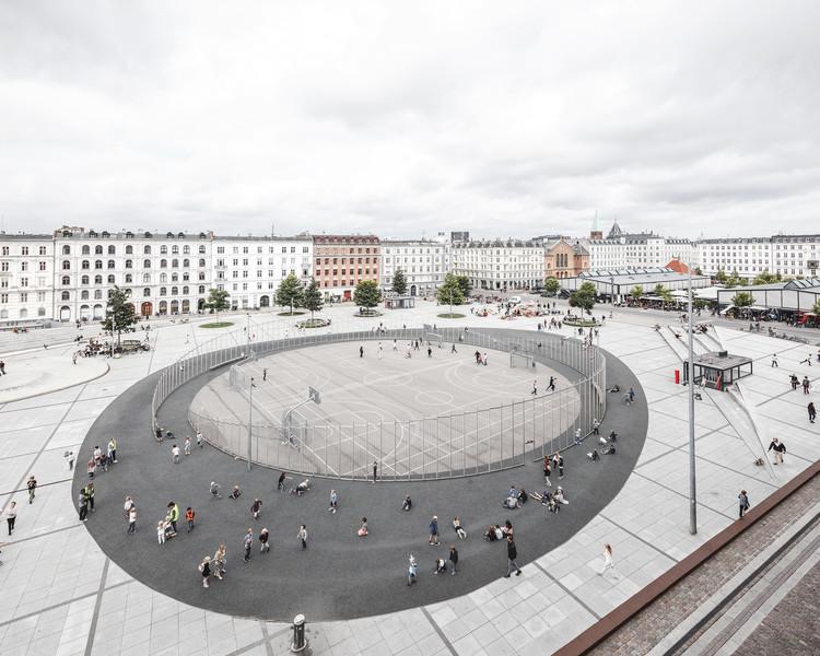 Praça Israels Plads / Cobe, © Rasmus Hjortshøj - COAST