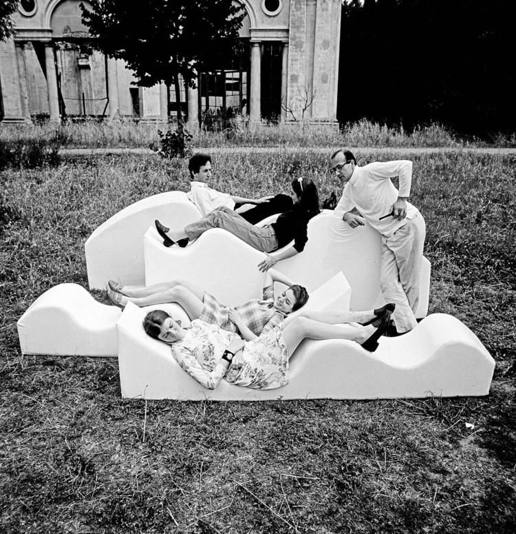 Superonda Sofa, 1966. Imagen cortesía de Dario Bartolini (Archizoom Associati)