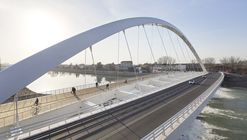 Cittadella Bridge / Richard Meier & Partners