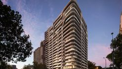 Zaha Hadid Architects Reveal Residential Tower in Melbourne Inspired by Australia's Natural Forms