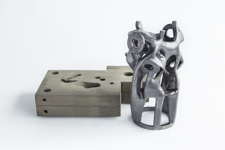 Arup Develops Affordable 3D-Printing Sand Casts for Complex Steel Structural Elements, © Davidfotografie