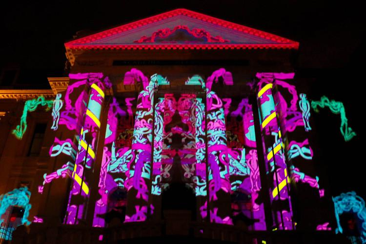 KÜZEFEST 2017: Primer Festival de Luz de Santiago, Cortesía de Delight Lab