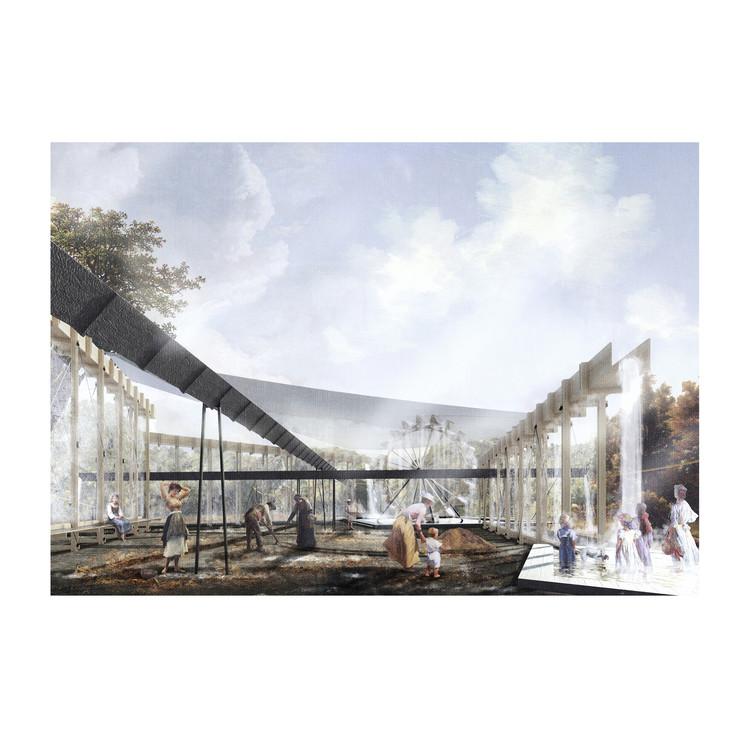 Conoce 'El molino y el acueducto', una de las propuestas finalistas del YAP 8 en Chile, Lámina 05. Image © Equipo Finalista