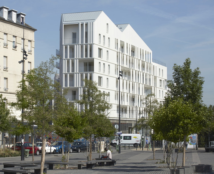 Néaucité Housing / Atelier Krauss Architecture, © Frédéric Delangle
