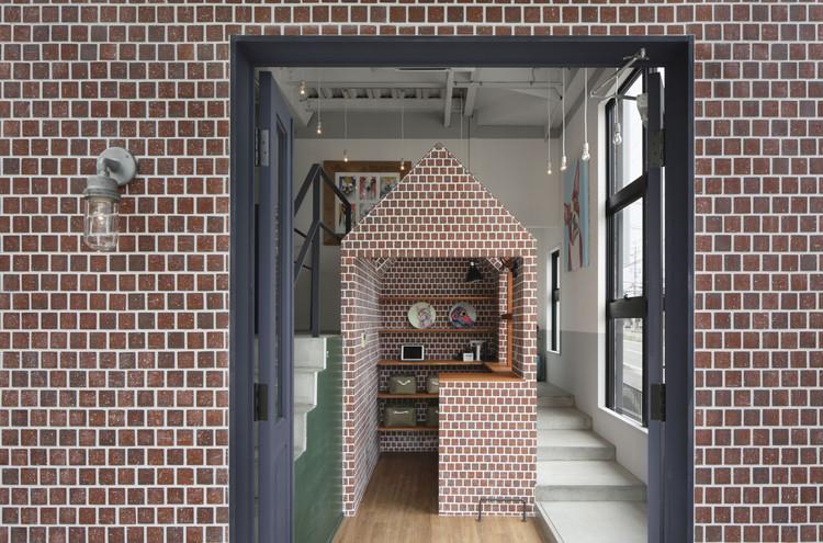 Salón de perros Rappa / Hidenori Tsuboi Architects, © Daisuke Shima