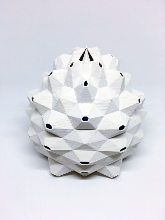 Modelo impreso en 3D. Image © GET HIGH WITHOUT DRUGS