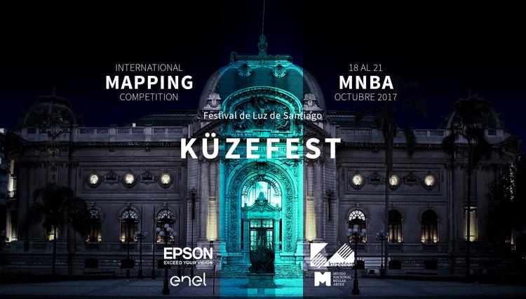 Convocatoria Mapping para Festival de Luz KÜZEFEST 2017, Cortesía de Delight Lab