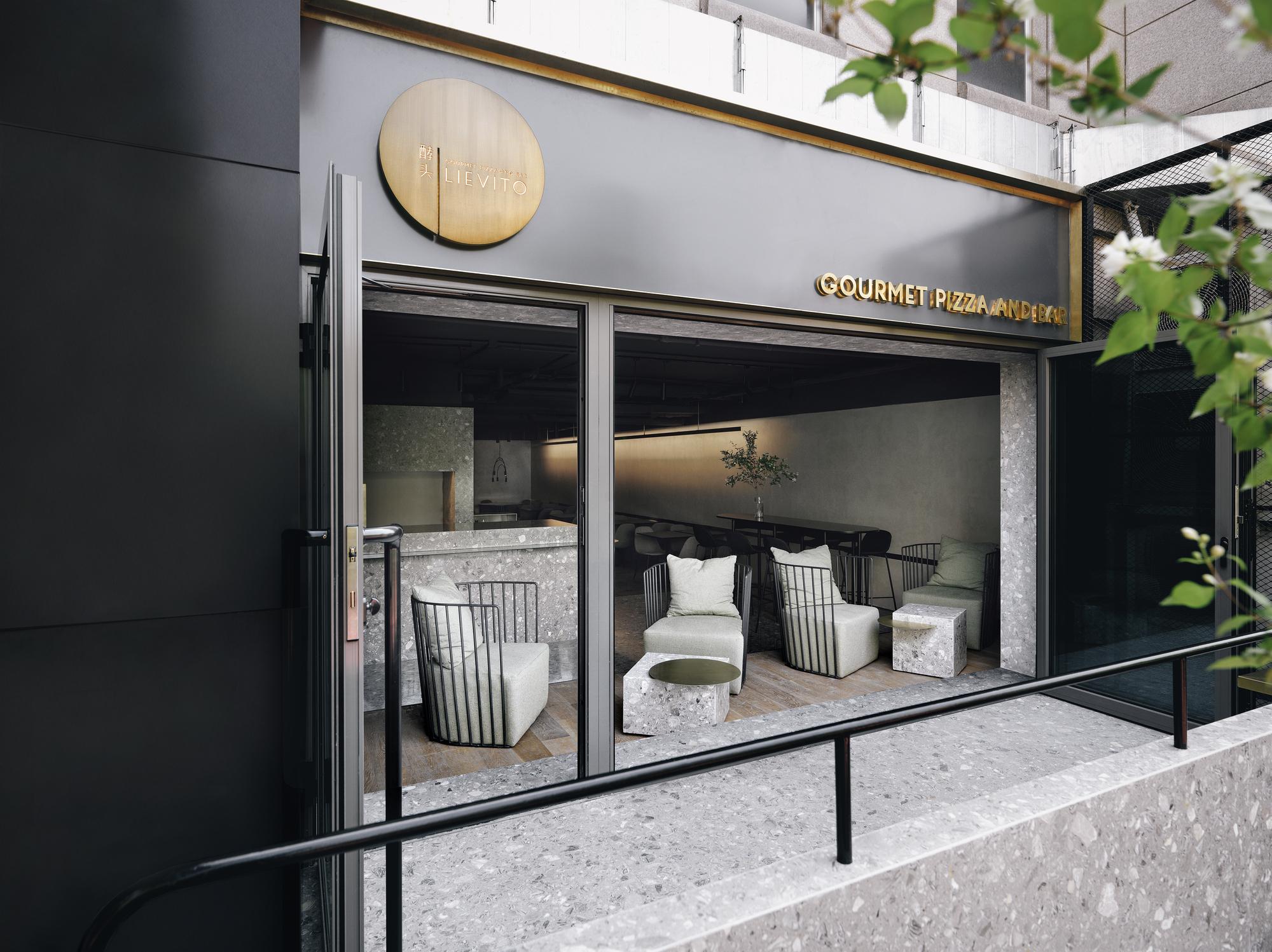 Gallery of lievito gourmet pizza and bar mddm studio 10 - Bar cuisine studio ...