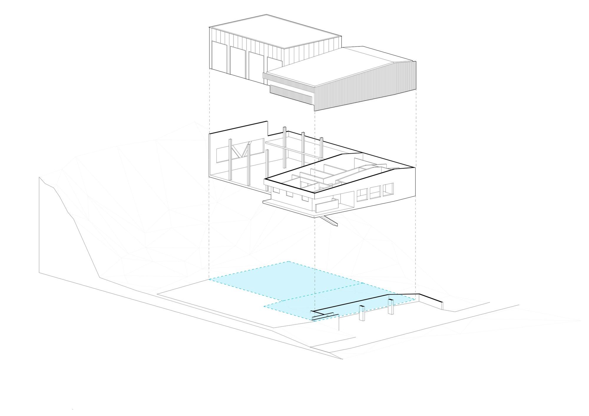 galer a de estaci n de bomberos de metzeral lo c picquet architecte 28. Black Bedroom Furniture Sets. Home Design Ideas