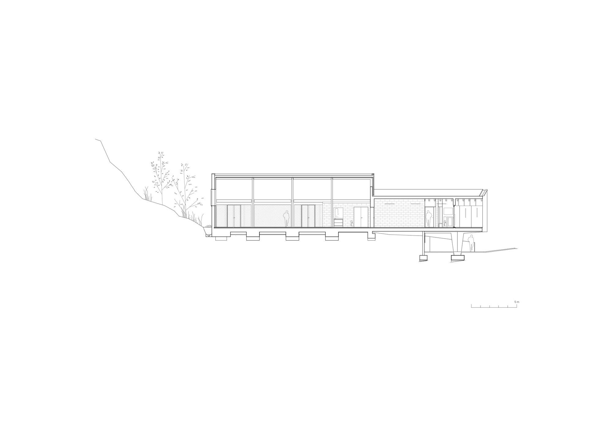 galer a de estaci n de bomberos de metzeral lo c picquet architecte 26. Black Bedroom Furniture Sets. Home Design Ideas
