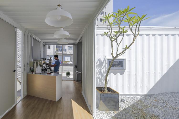 عکس های معماری یک کافه خارجی در پارک + توضیحات هر تصویر