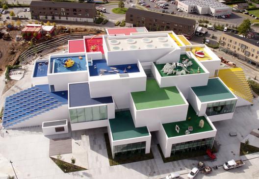 Exterior View. Image © LEGO