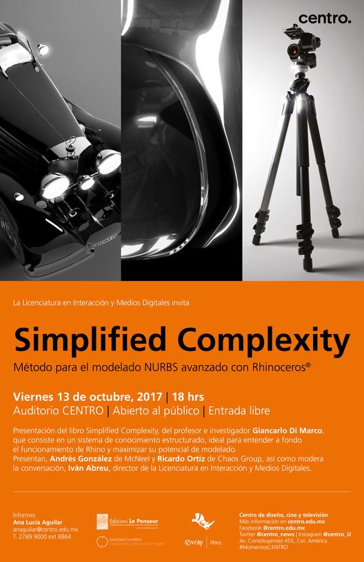 Simplified Complexity, presentación del libro y clases magistrales