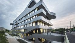 Edificio de la Universidad FOM en Düsseldorf